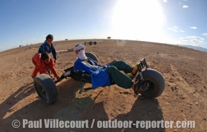 21 - Raid Kite Buggy au Maroc. | Buggy Kite raid in Morocco.