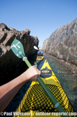 96 - Sea kayaking / Kayak de mer : French Riviera.